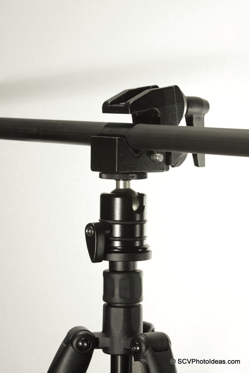 Triopo RS-3 w/ Manfrotto SC35 & Tube leveled