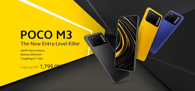Beberapa Alasan Utama Untuk Membeli Xiaomi POCO M3