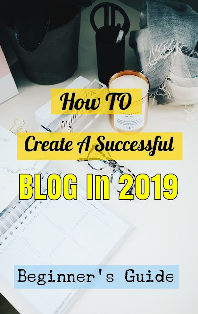 start a blog 2020 pin