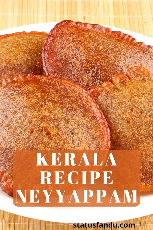 How To Make Kerala Recipe Neyyappam