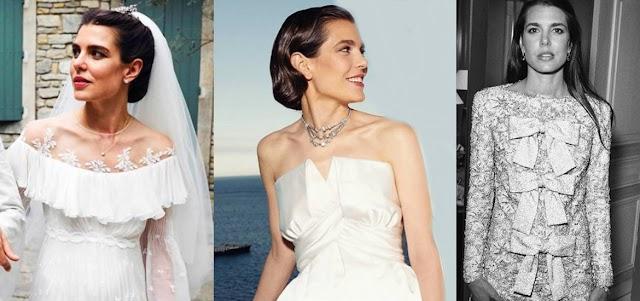 El vestido de novia de Carlota Casiraghi