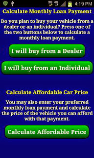 Auto Car Loan Payment Calculator Full Version