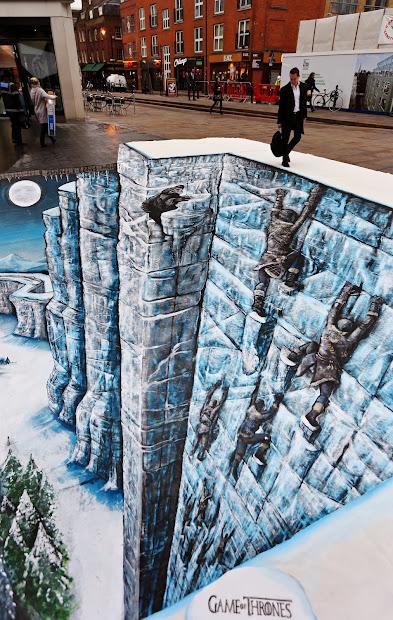 Geek Art Street Wall Chalk