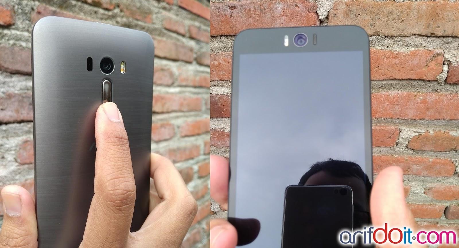 Nyaman memegang zenfone 2 selfie