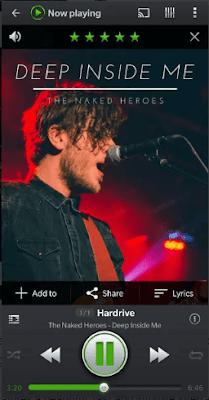 aplikasi musik yang bisa di minimize