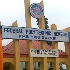 Federal Poly Nekede ND Evening / Weekend Admission List for 2018/2019 Session
