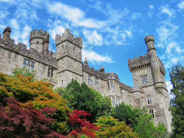 Exterior of Lismore Castle in Ireland