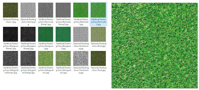 download Texture material rumput