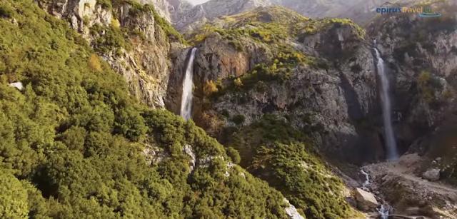 Άρτα:Εντυπωσιάζουν Οι Καταρράκτες Του Νομού Άρτας![Aerial Video]