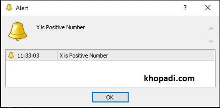 Decision Making Statements IF-Else Positive Number Checking Program in MQL