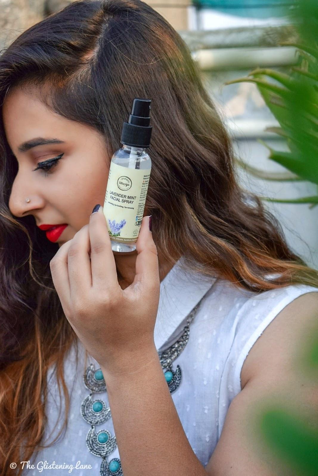 Urvija Lavender & Mint Facial Spray