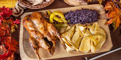 Roasted Goose Makanan Khas Bratislava