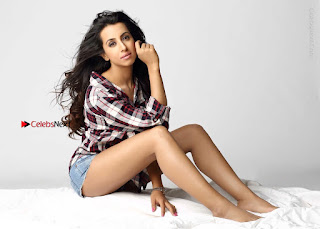 Actress Sanjjanaa Archana Galrani Latest Spicy Po Shoot Gallery in Denim Shorts  0006.jpg