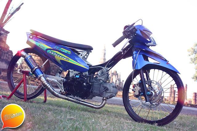 mothai-thai-style-drag-thailand-honda-wave125-blue-honda-supra-125
