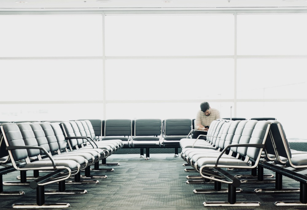 trusted traveler program to avoid long lines at the airport.