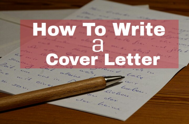 how to write an amazing cover letter for job application