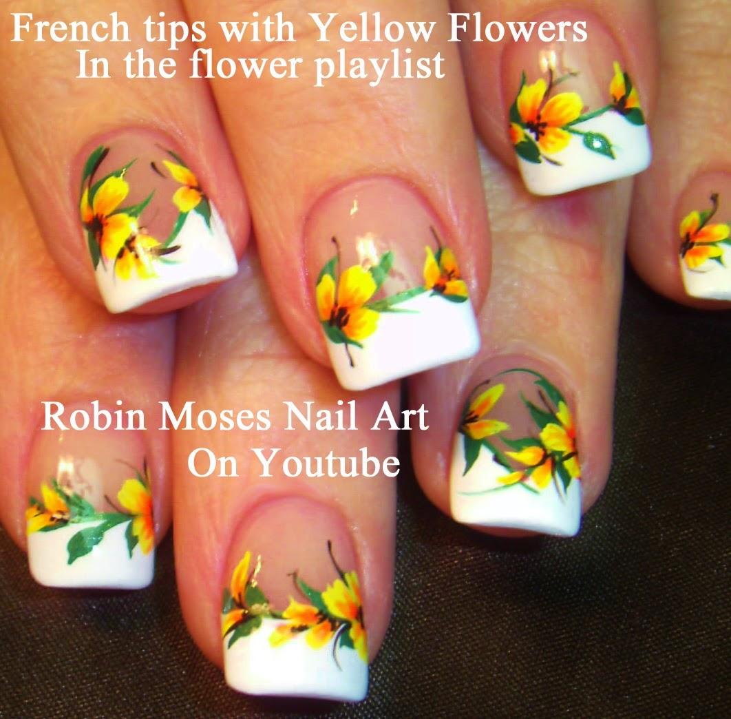 """Robin Moses Nail Art: """"flower Nails"""" """"matte Nails"""" """"nail"""