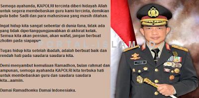 Doa Indah Ust. Arifin Ilham Untuk Kapolri Tito Karnavian