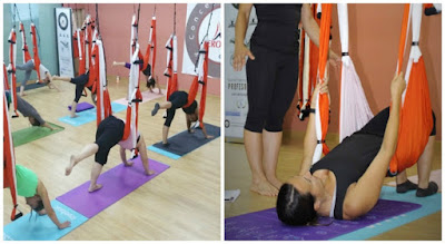 formaçao aerial yoga
