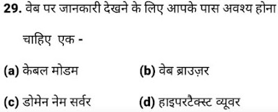 CCC Question Paper with Answers - Previous year CCC Papers, Model Sample papers