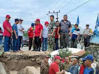 Warganya Kena Bencana, Bupati Lampung Tengah Turun Langsung