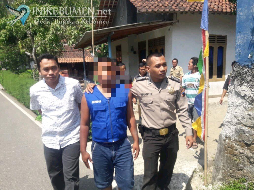 Mengamuk Tak Jelas, Pemuda di Sempor ini Diamankan Polisi
