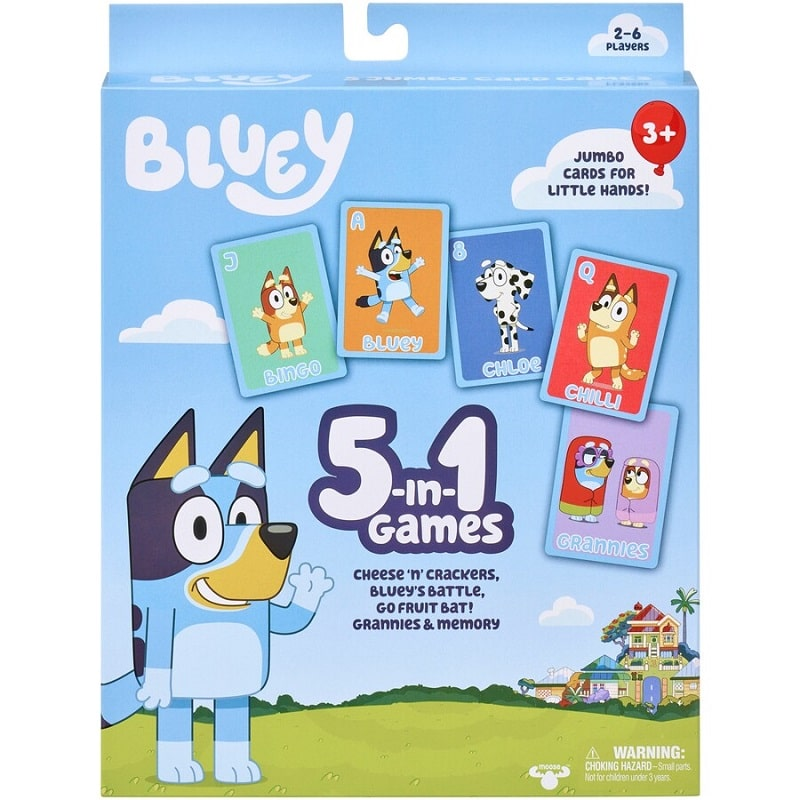 bluey 5 in 1 game
