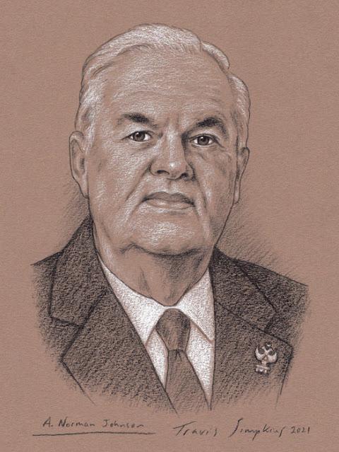 A. Norman Johnson, 33°. Supreme Council. Scottish Rite, NMJ. by Travis Simpkins