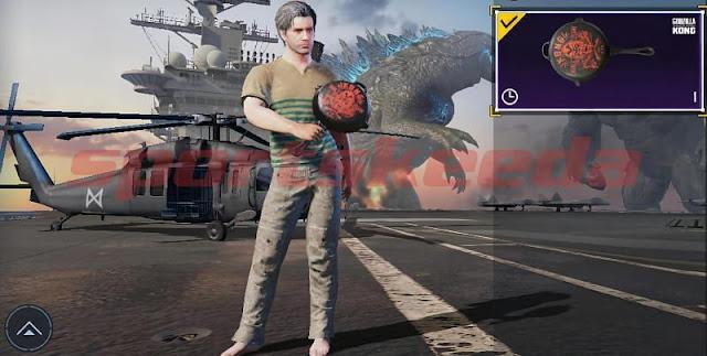 PUBG Mobile (8 Haziran) için kodu kullan: Ücretsiz Kong Team tava görünümü ödülü