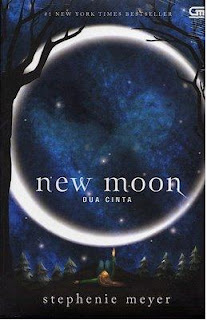 Novel New Moon by Stephanie Meyer