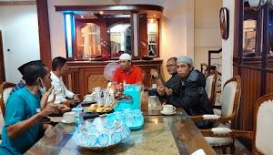 Sebagai Bentuk Keserisuan Untuk Mendukung IMAN, H. Abdulah Adakan Pertemuan Dengan Tim