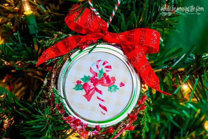 Buffalo Check Christmas Ornament