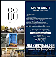 Open Recruitment at Hotel 88 Surabaya December 2019