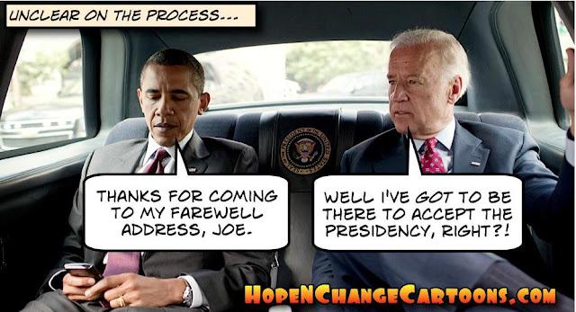 obama, obama jokes, political, humor, cartoon, conservative, hope n' change, hope and change, stilton jarlsberg, farewell address, chicago, trump