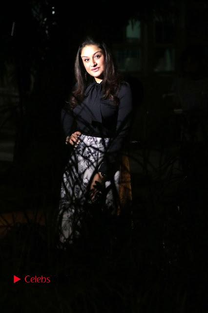 Actress Sonia Agarwal Stills in Black Top at Yevanavan Tamil Movie Audio Launch Event  0010.jpg