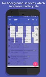 IDM+ 10 android + Mod (Lite) for Apk