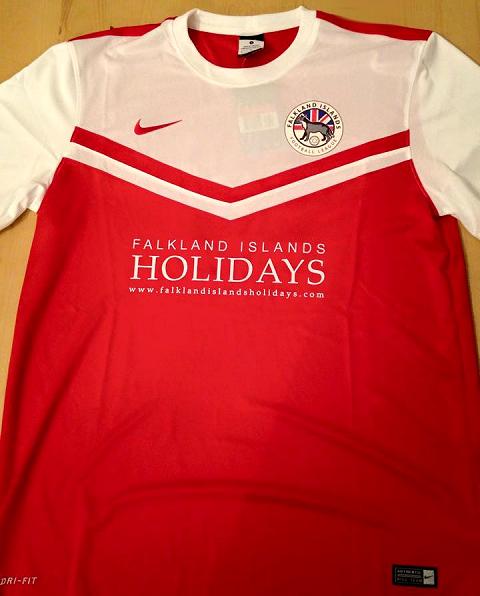 Ilhas Falkland divulga seus novos uniformes - Show de Camisas 403145ddda03a