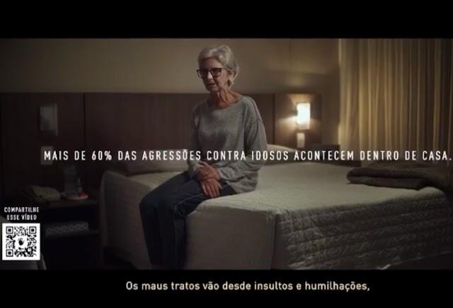CAMPANHA DA ASSEMBLEIA LEGISLATIVA ALERTA PARA VIOLÊNCIA CONTRA IDOSOS