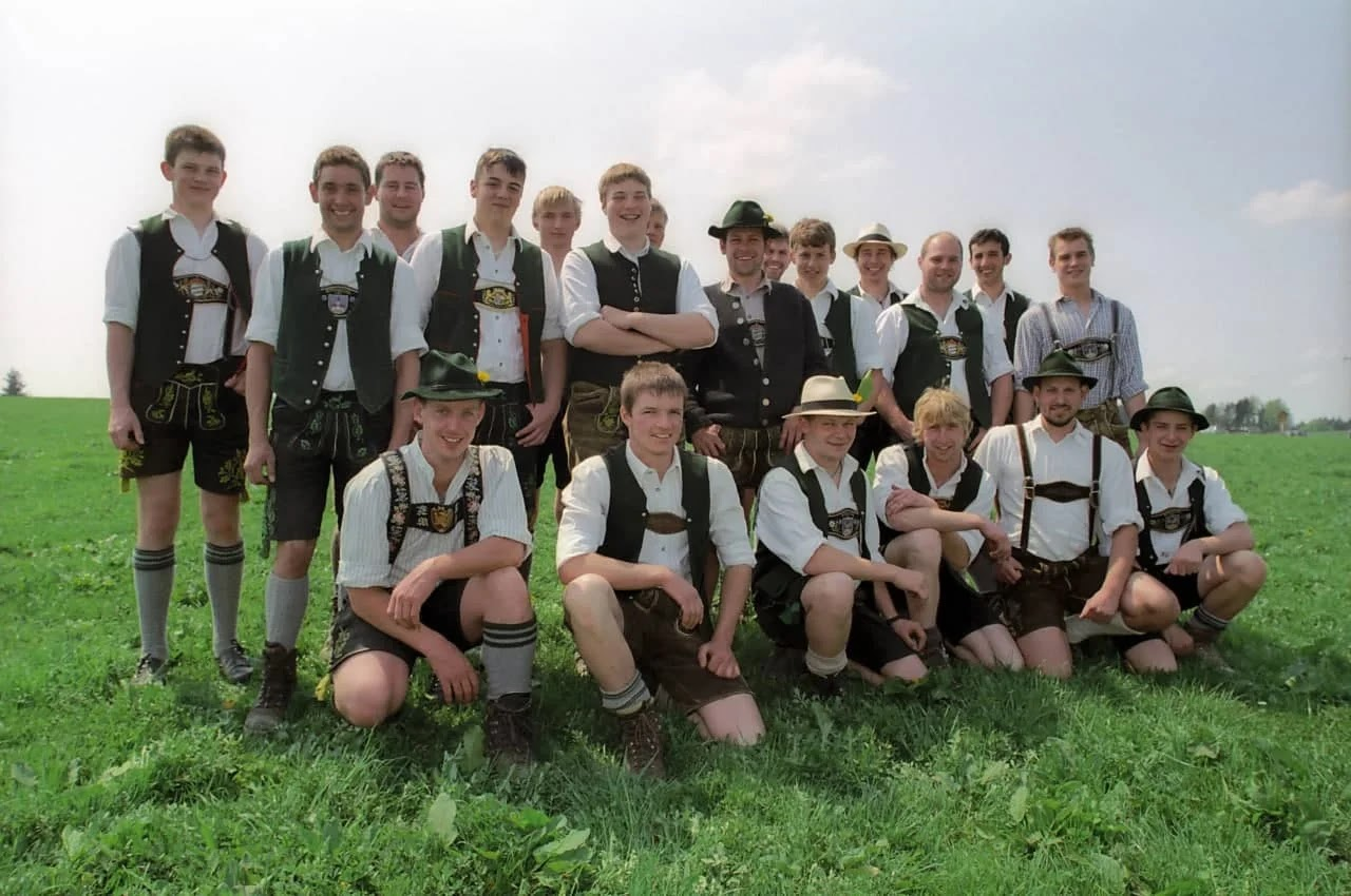 The Oktoberfest is the world's largest Volksfest.v