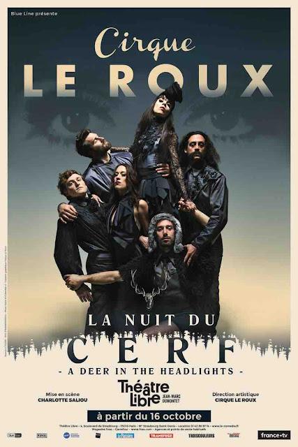 La nuit du cerf nouveau spectacle du cirque Le Roux