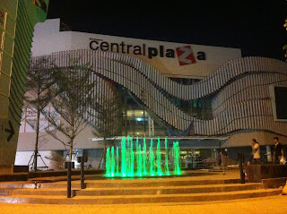 Central Plaza shopping mall in Udon Thani - Thailand