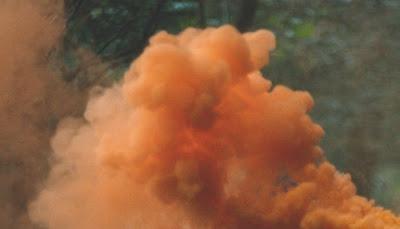 분진연료(combustible dust), 부유분진(dispersion of dust)