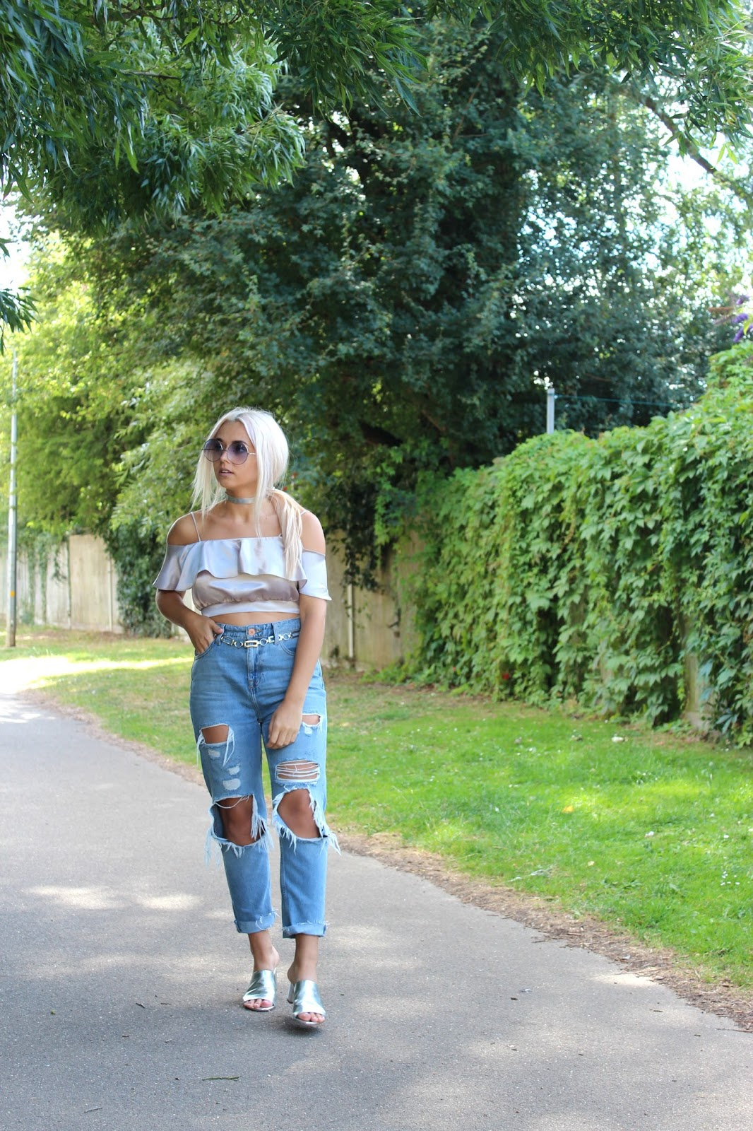 River Island Mom Jeans