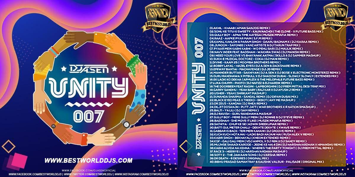 UNITY 007 - DJ A.SEN