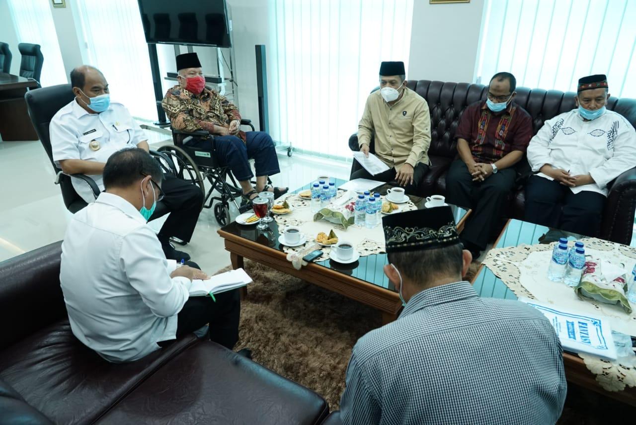 Walikota Menggelar Silaturahmi Dengan Mantan Walikota Tebingtinggi dan Pengurus Yayasan Panti Asuhan Amaliah