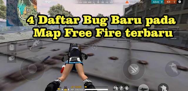 4 Daftar Bug Baru pada Map Free Fire terbaru