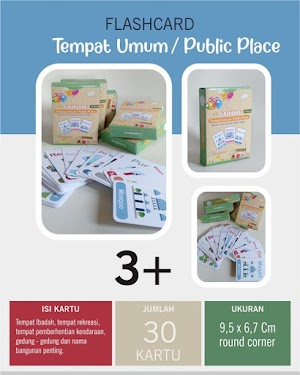Flash Card Tempat Umum / Public Place