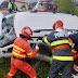 FOTO Accident terifiant la Panaci! Un Logan furat de un tânăr beat și fără permis s-a izbit violent într-un stâlp. O persoană a murit și cinci au fost rănite