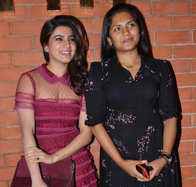 Actress Samantha, Neeraja Kona at TGrill Restaurant Launch Photos