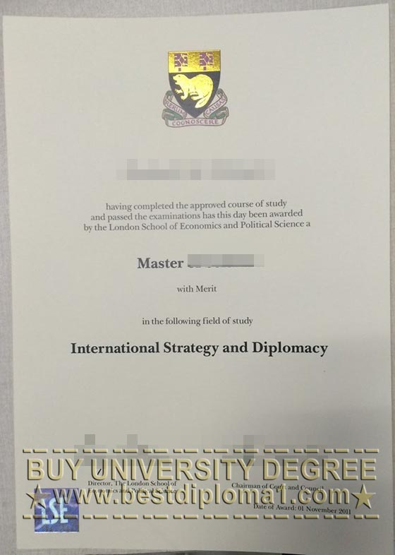 Phony LSE diploma, buy LSE degree
